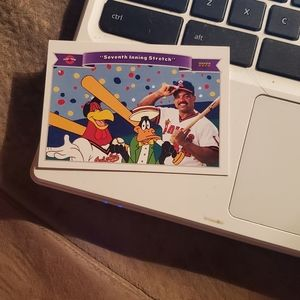Seventh inning stretch baseball card